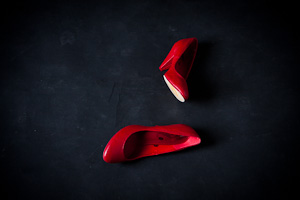 Sapatos Vermelhos - Book Mulher