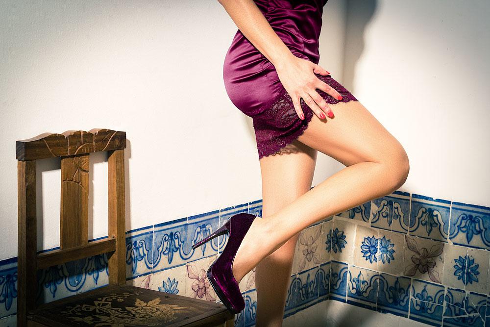foto sensual de boudoir